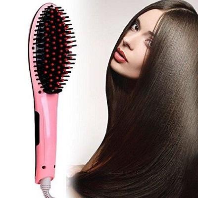 brosse lissante pour cheveux sec